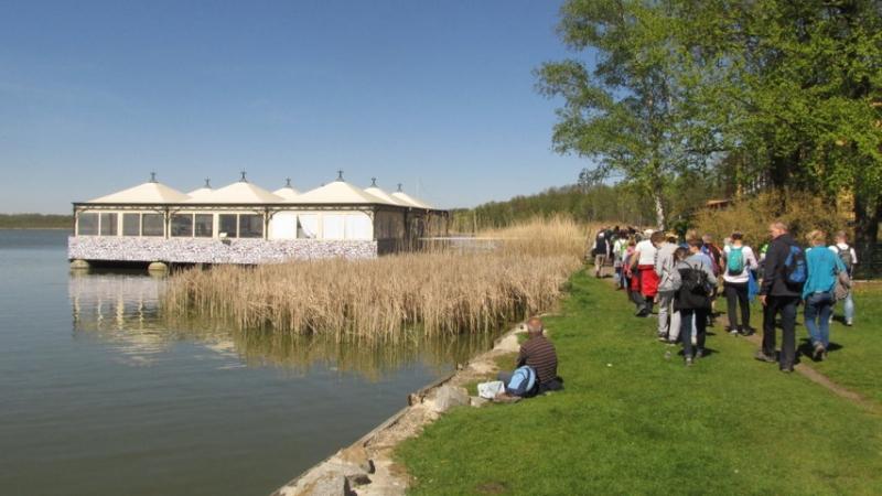 Weg am Rangsdorfer See